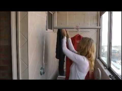 Comparativa de soga de colgar ropa y tendedero colgante youtube - Como hacer un tendedero de ropa ...