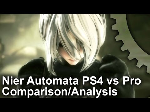 Nier Automata PS4/PS4 Pro Final Code Comparison + Frame-Rate Test