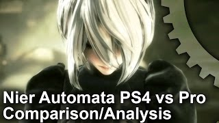 Nier Automata PS4/PS4 Pro Final Code Comparison + Frame-Rate Test