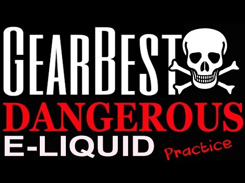 Mermaid e juice Vape liquid from Gearbest bad dangerous practice that should be stopped