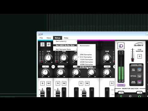 Recording Vs Mixing Buffer Size Audio Interface Settings