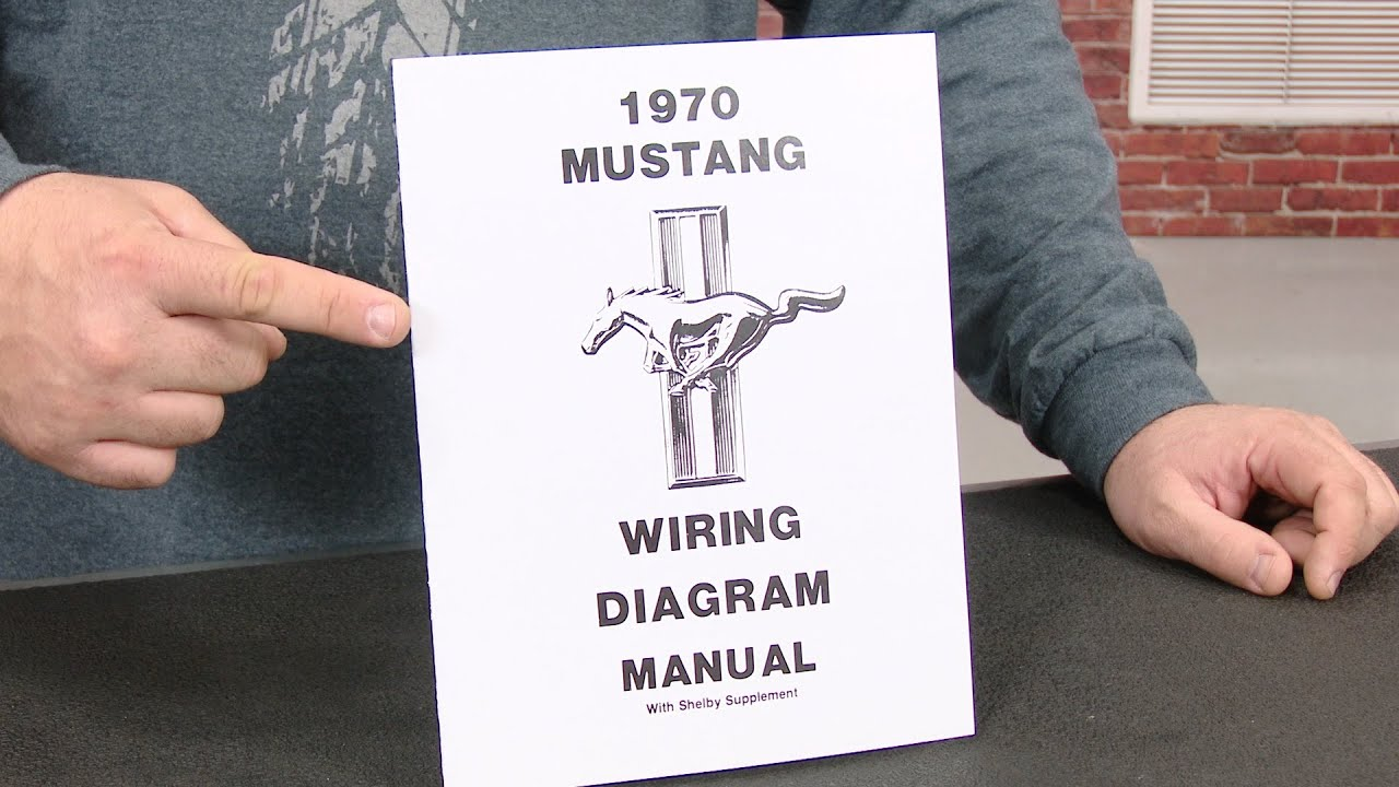 Mustang Jim Osborn Reproductions Wiring Diagram Manual 1970 - YouTube