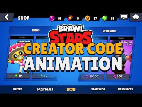 PS/AE: Brawlstars Creator Code Animation - Speedart By EdwardDZN