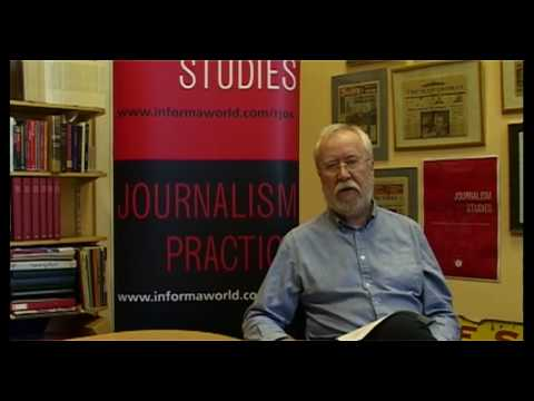 Journal 'Journalism Studies' December 2009