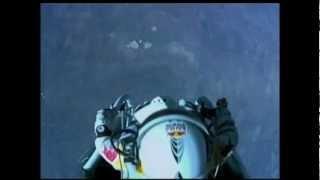 Felix Baumgartner saltó desde 39.000 metros y rompió la velocidad del sonido HD