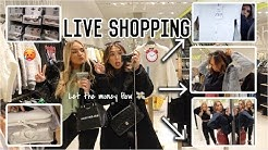 Live Shopping in FFM City (Bershka, Zara, Primark & Dm) -Adorable Caro