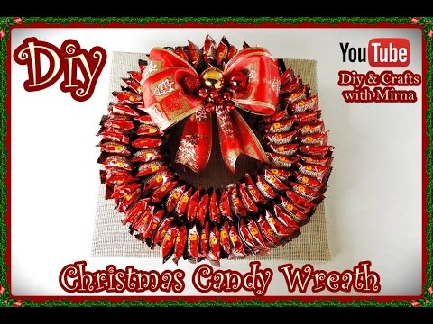edible christmas craft ideas diy how to make a wreath diy amp crafts 4391