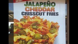 Carbs - Carl's Jr Jalapeno Cheddar Crisscut Fries
