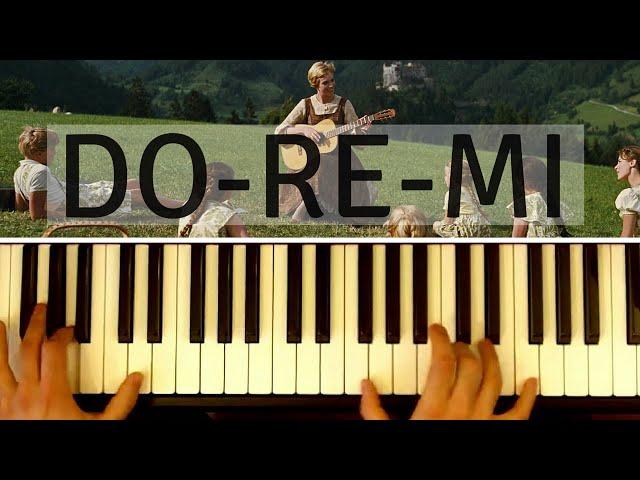 DoReMi The Sound of Music Do Re Mi naspeelvideo Nederlands