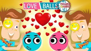 LOVE BALLS! FUNnel Boy plays Most ADORABLE puzzle game EVER! (FB Gaming #9)