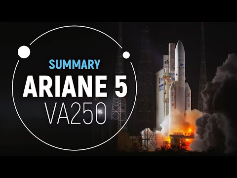 Arianespace VA250 Successful Mission