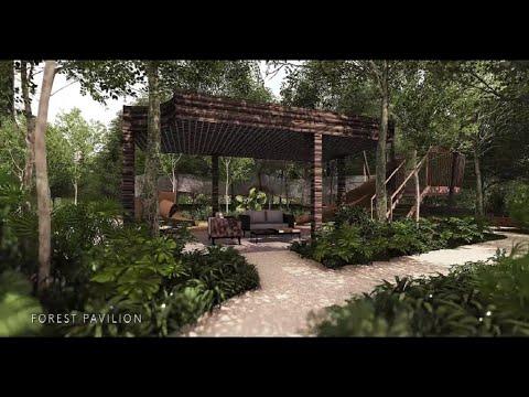 Home Within A Botanic Garden at Martin Modern