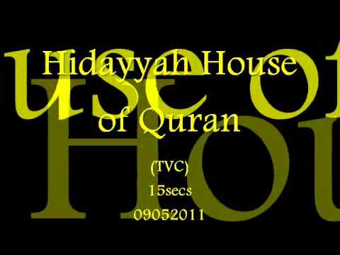 Hidayyah House Of Quran (TVC) 15secs