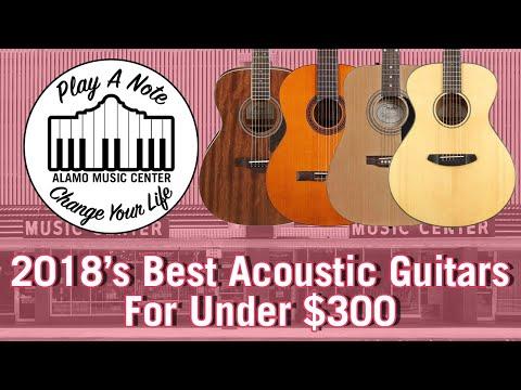 2018's Best Acoustic Guitars For Under $300 - FA100, APX600, C1M, FG/FS, CD60S, AJ220S, APX600