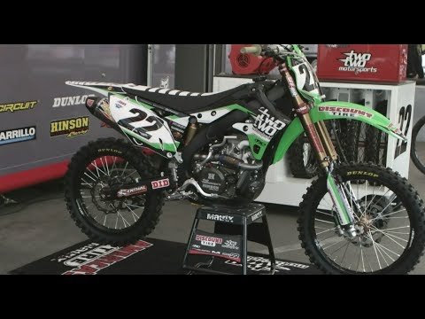 Inside the Pro's Bikes-Chad Reed's Factory Discount Tire Kawasaki 450F -Motocross Action Magazine