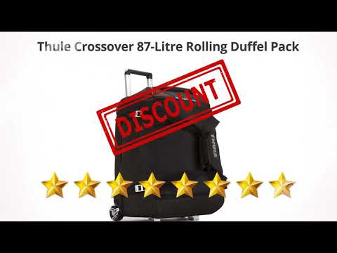 Thule Crossover 87-Litre Rolling Duffel Pack  | Review and Discount