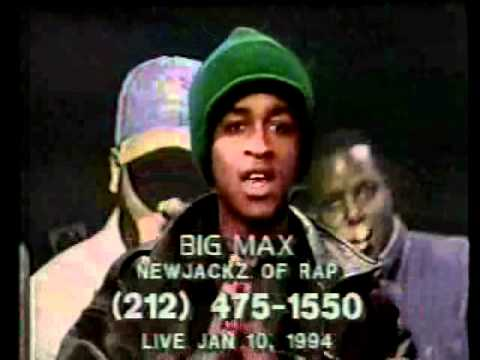 Black Moon Introduces Smif N Wessun On Big Max New Jackz of Rap (Jan. 10th, 1994!)