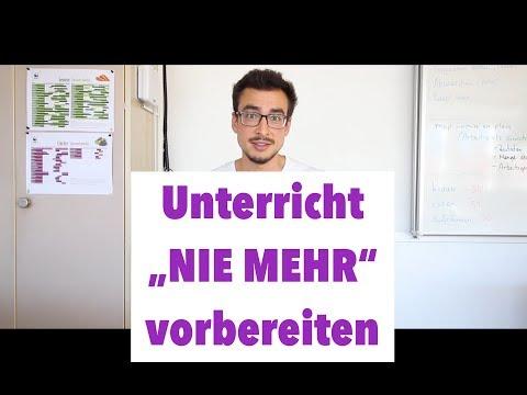 """Wie Ich Als Lehrperson """"nie Mehr"""" VORBEREITEN Muss - 4 Schritte Zum Selbstläufer"""
