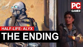 half Life Alyx - Ending and After Credits Scene + Credits [HD 1080P]