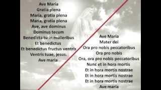 Karaoke Schubert Ave María para Barítonos