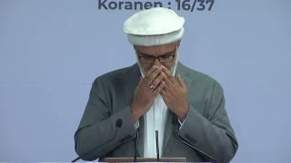 Välkomsttal av Ordförande Waseem Ahmad Zaffar - 27:e Jalsa Salana Sverige 2019