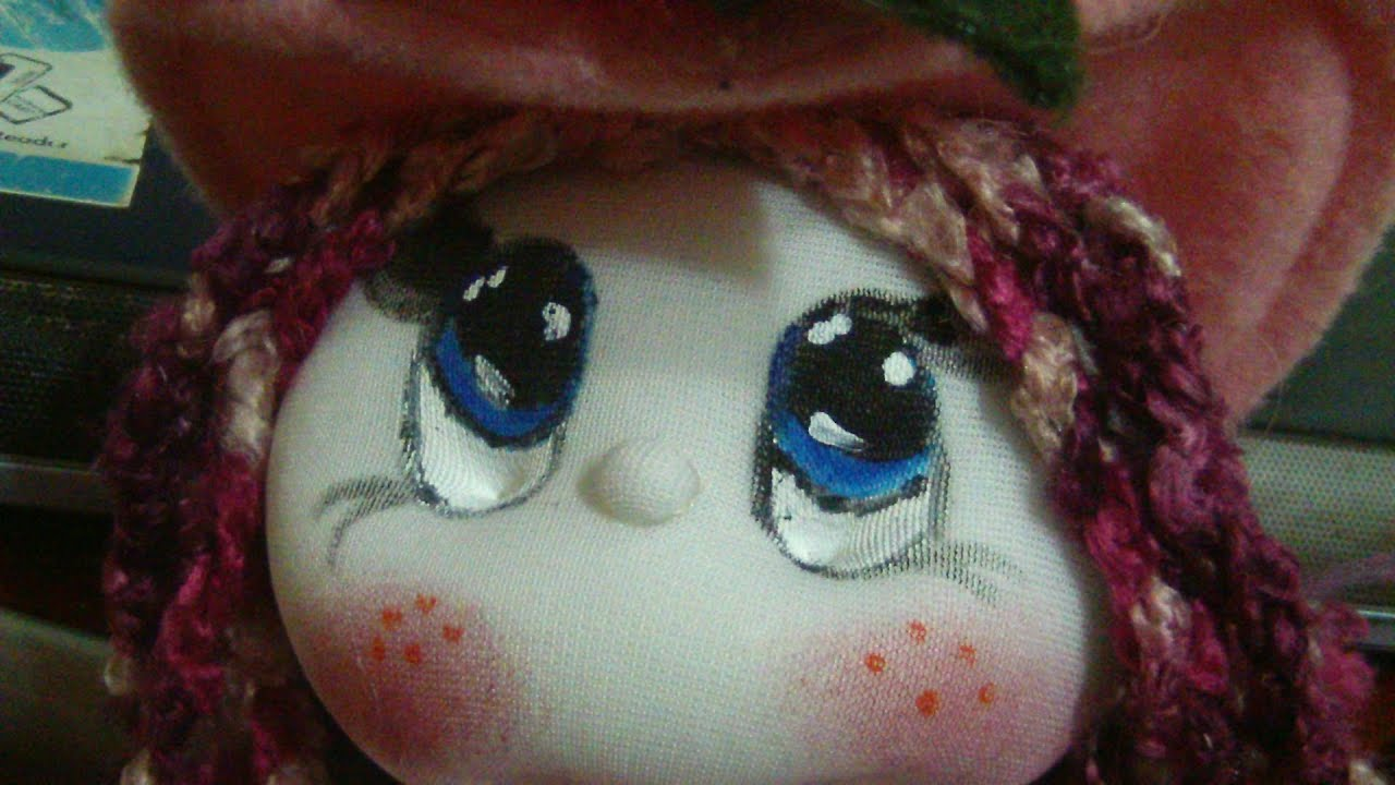 Muñecos Softcomo Pintar Ojos Facileshow To Paint Eyes Easilyproyecto 183