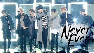 Comeback Special Got7 갓세븐 Never Ever 인기가요 Inkigayo 20170326 MP3