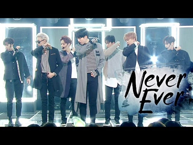 《Comeback Special》 GOT7 (갓세븐) - Never Ever @인기가요 Inkigayo 20170326