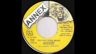 Download Merciless -  Nah Nuh Sense Bruce (Mecca Riddim) 1996 MP3 song and Music Video