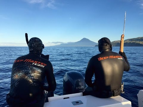 Подводная Охота. Азорские Острова. Часть 2. Spearfishing in the Azores Pico Islands 2015