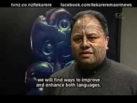 Samoan language week aspiring to Maori language week Te Karere 2 Jun 2010.wmv