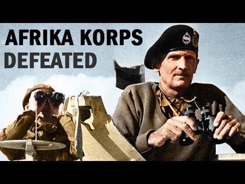 German Afrika Korps Defeated in Tunisia    World War 2 Newsreel   1943