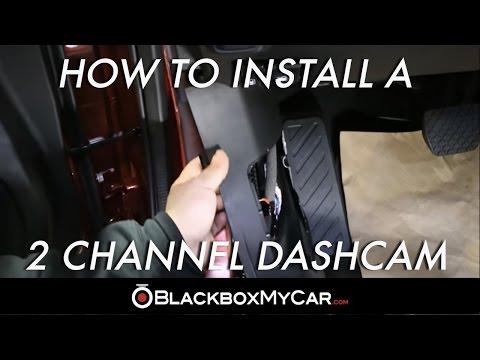 How to Install a 2 Channel Dash Cam (Mazda 6) – BlackboxMyCar