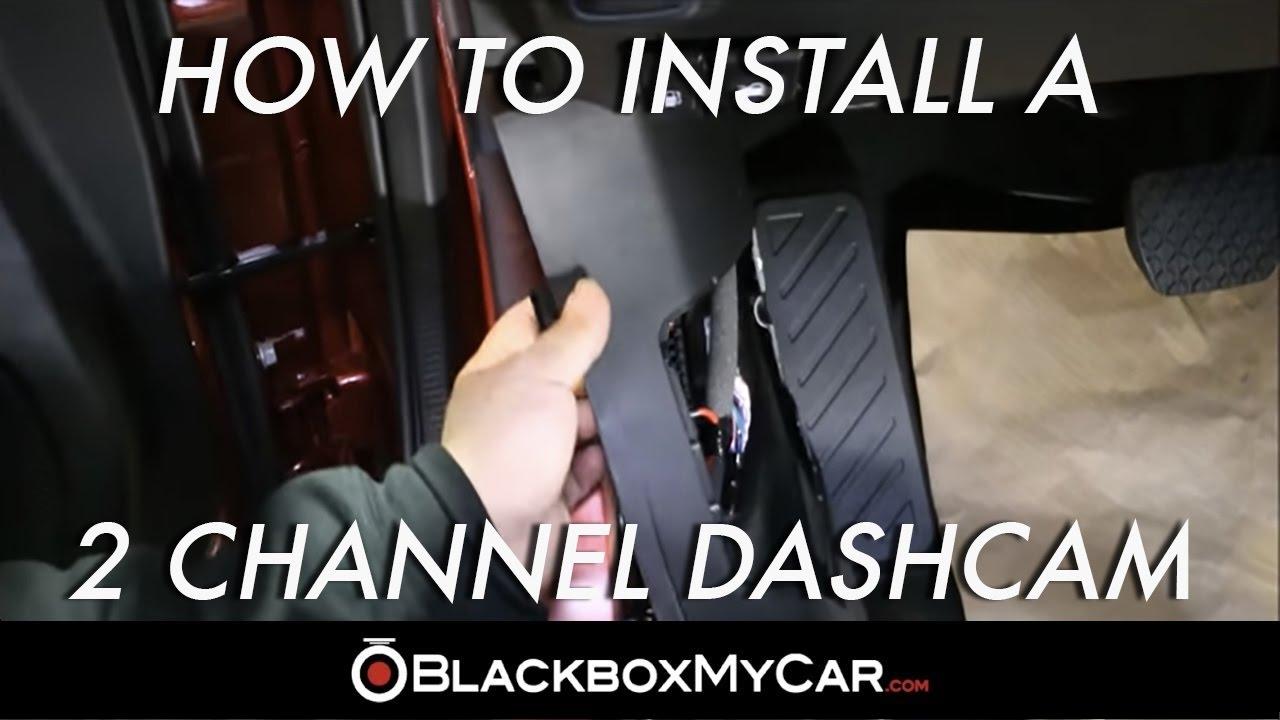 medium resolution of how to install a 2 channel dash cam mazda 6 blackboxmycar