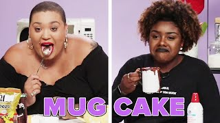 We Try Making Mug Cakes Without A Recipe