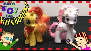 My Little Pony Nurse Redheart & Sunset Shimmer Cutie Mark Magic Review | BIN