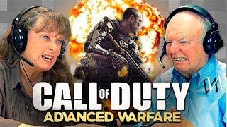 Реакция стариков на игру Call of Duty Advanced Warfare | Иностранцы пенсионеры в CoD [ИндивИдуалист]