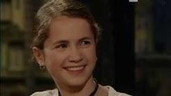 Cornelia Gröschel (Tatort Dresden) als Kind bei Harald Schmidt