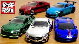 イオン限定!?トミカ博の景品に欲しいカラー☆マジョレット プライムモデル クロムエディション 全5種類 メルセデス・ランボルギーニ ・ポルシェ・ジャガー・アストンマーチン