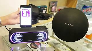 So sánh chất âm của Loa Harman Kardon Onyx Studio 3 và Sony Extra Bass SRS-XB40
