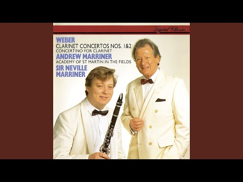 Weber: Concertino For Clarinet And Orchestra In E Flat, Op.26 - 1. Adagio Ma Non Troppo - Andante