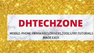 FIX INFINIX X608 AFTER FLASHING INCOMPLETE APP/ICON BY DHTECHZONE