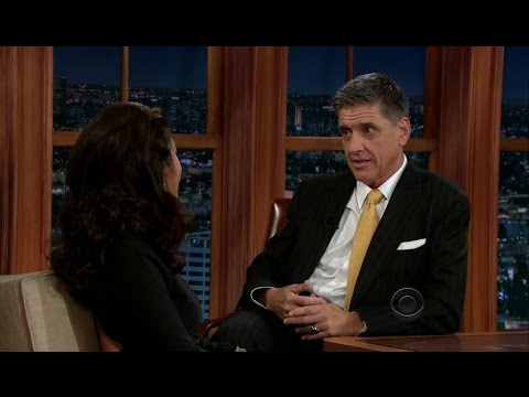 Late Late Show with Craig Ferguson 9/17/2012 Julie Chen, War