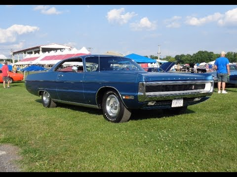 1970 Plymouth Sport Fury GT in Jamaica Blue & Engine Sound on My Car Story with Lou Costabile