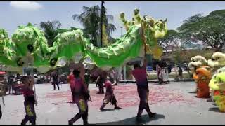 PART 2- THE MOST GRAND LION DANCE WITH DRAGON DANCE