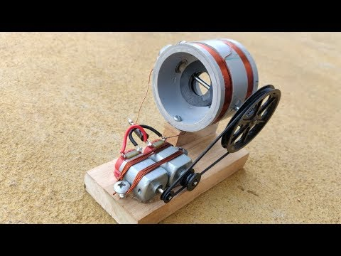 Free Energy Generator Using Magnet Activity