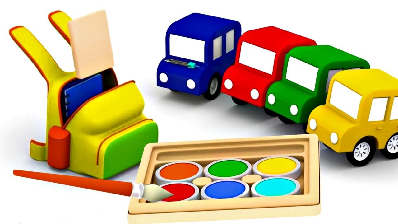 compilation 2 de 4 voitures couleurs chiffres et jeux youtube. Black Bedroom Furniture Sets. Home Design Ideas
