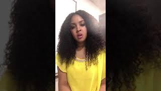 Jekarra Singing Aretha Franklin Natural Woman