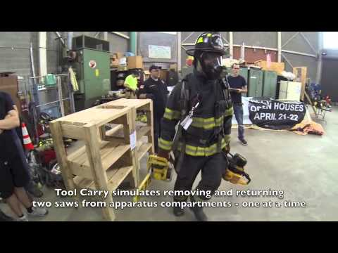 Erie County Firefighter 1 Air Consumption Test