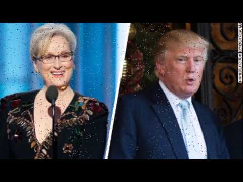Thumbnail: Trump slams Meryl Streep in response to Golden Globe speech critical of Trump
